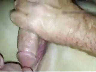 husband sucks lover's cock before putting in her pussy