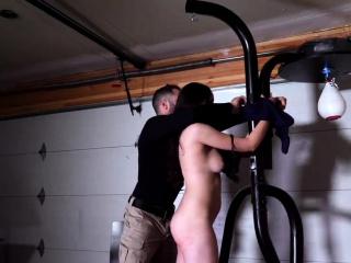 Uniform spanking and amateur rough sex Kyra Rose was sent