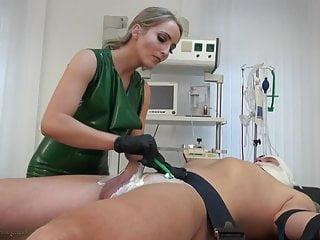 Femdom nurse checkup