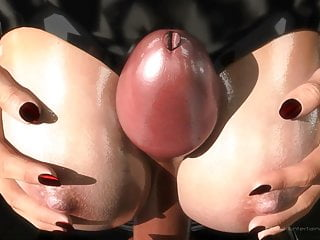 SFM 3D Busty bondage makes slave cum multiple times