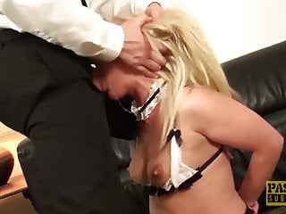 PASCALSSUBSLUTS - British Maid Amber Deen Hammered By Master
