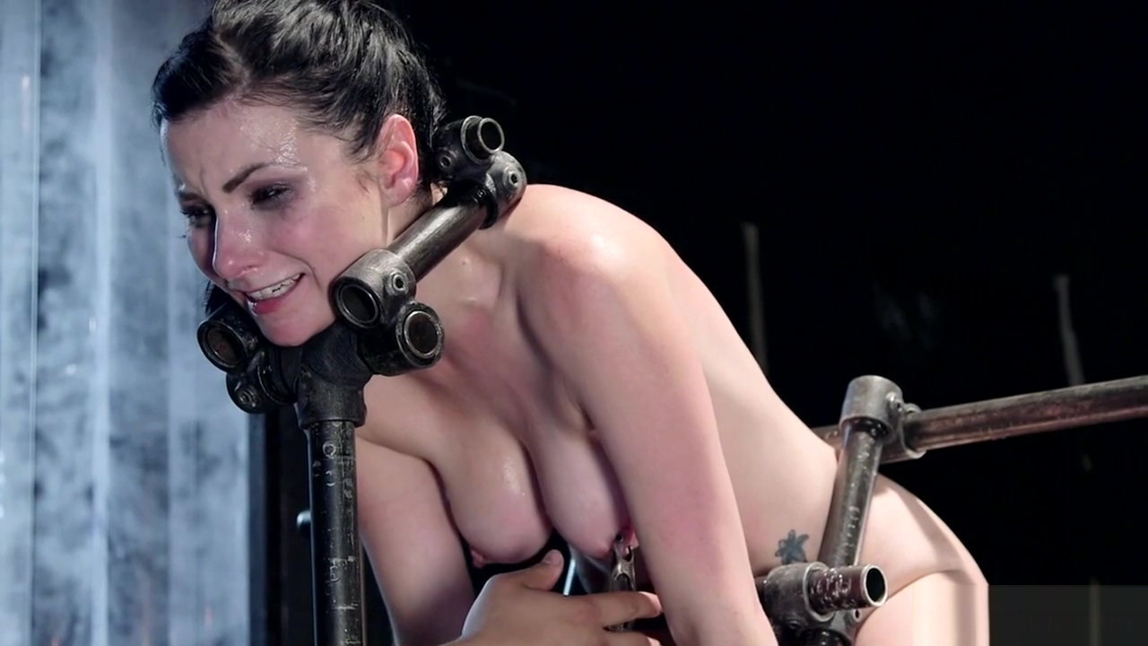 Bound slave with hips in the air toyed