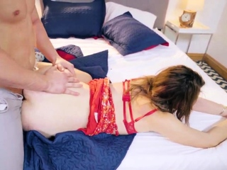 Hardcore punishment and tape gagged latex He then spread her