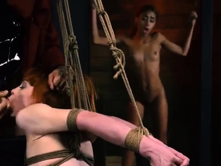 Strapon cum blowjob Sexy young girls, Alexa Nova and Kendall