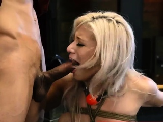 Extreme feet domination Big-breasted platinum-blonde