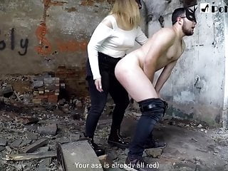COMPILATION IN WHICH POLINA FUCKS HER SLUT WITH A STRAPON