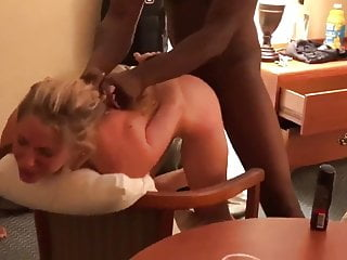 Black gang gives my submissive wife what she deserves