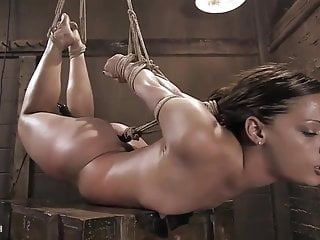 Teen slut slave has a hard time