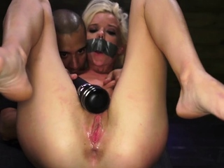 Extreme monster cock anal and sub bdsm dom Halle Von is in t