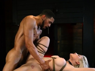 Feet domination hd Big-breasted ash-blonde bombshell