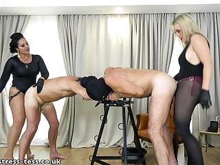 2 mistresses pegging