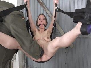 Submissive German slut gets fisted