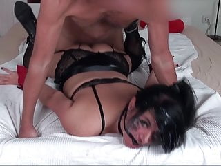 ANAL EXECUTION! TIED UP ANAL BITCH BRUTALLY FUCKED
