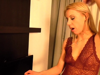 princess Nicole spit in slave Bobbys mouth