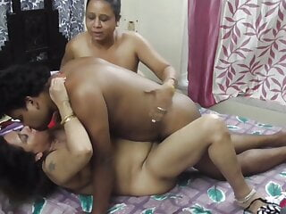 Indian sister in law and her vhabi. Unwanted threesome sex !