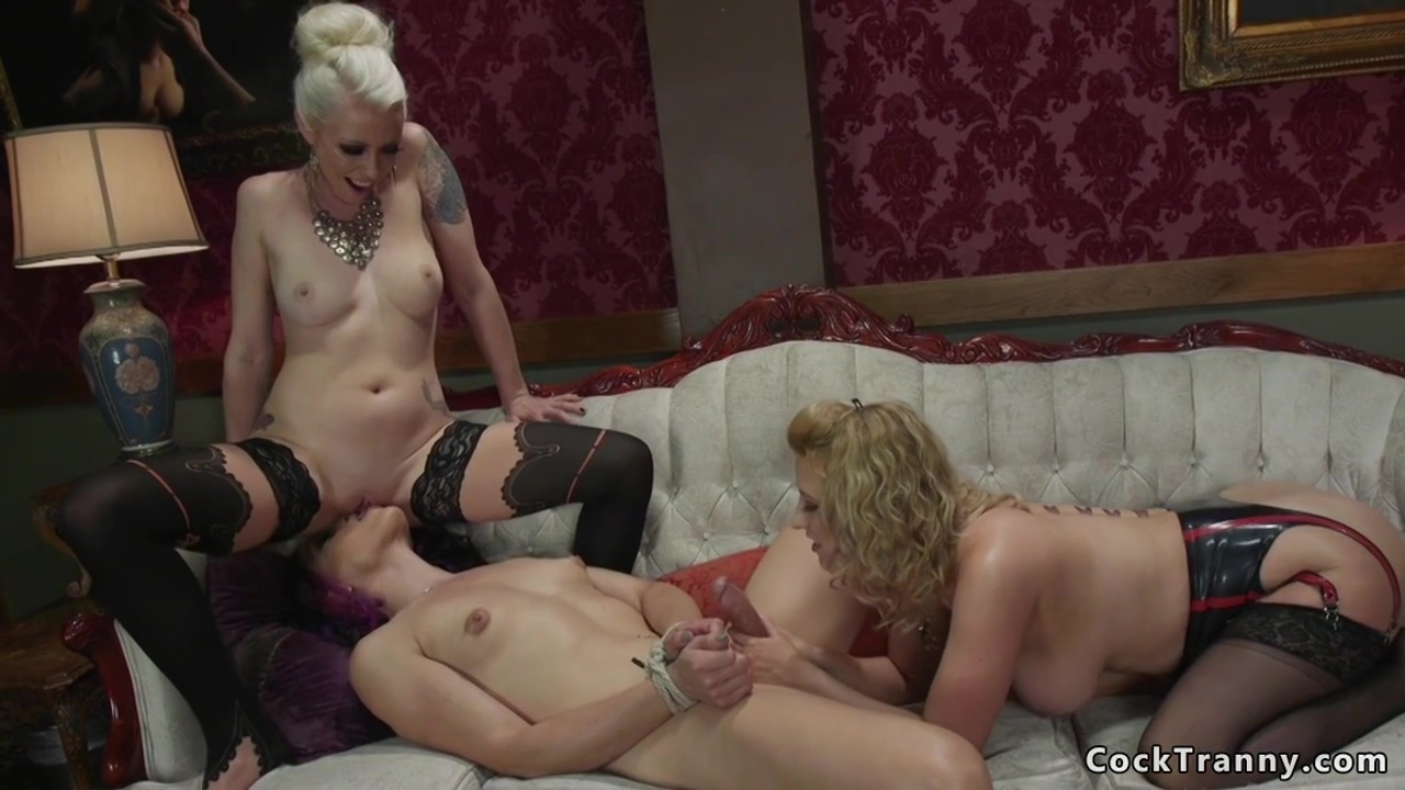 Rich Babes Tying Up Shemale And Having Sex - Lorelei Lee And Cherry Torn