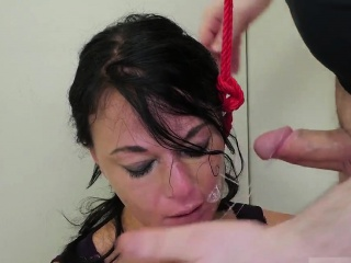 Alina li rough anal So we put on a talent flash so she can d