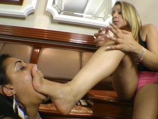 Deep Feet Lesbian Domination