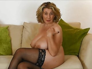 British Mature Waiting for Hard cock in her Mouth.