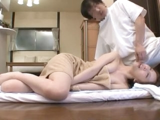 Exotic Japanese whore Kotone Amamiya in Hottest Fingering, Blowjob JAV clip