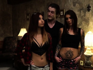 Teen piss orgy Excited young tourists Felicity Feline and