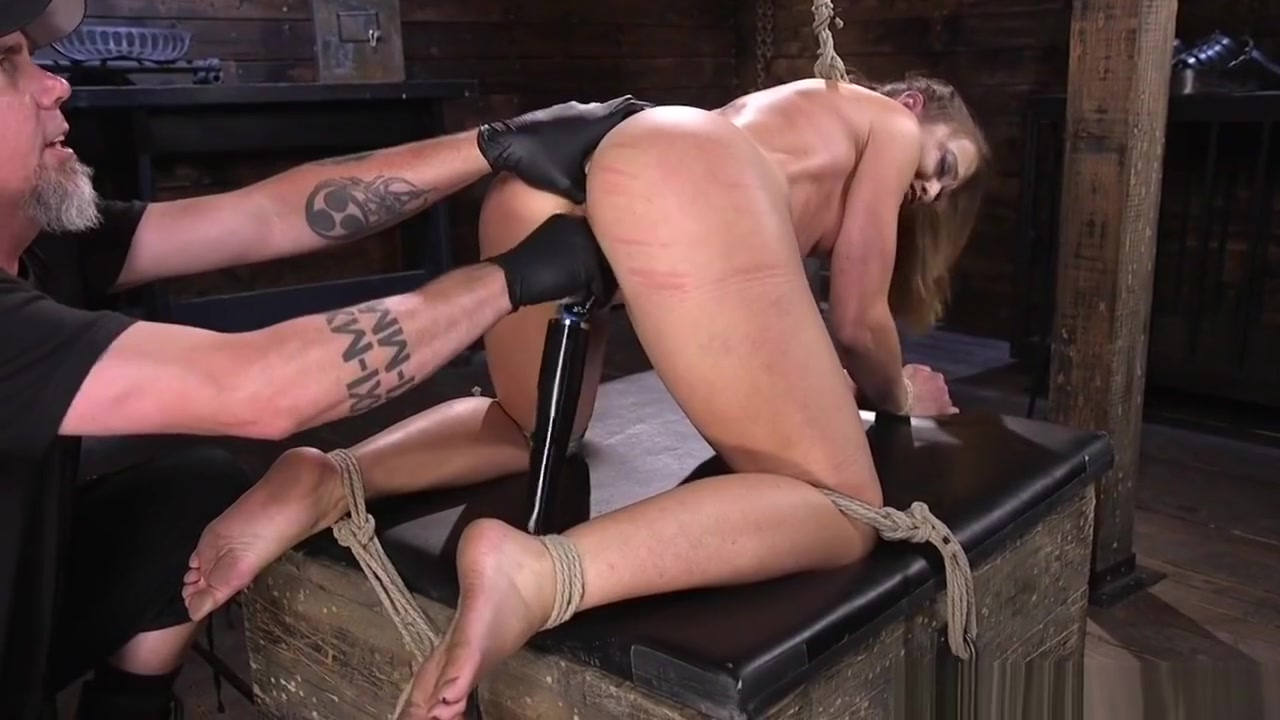 Bondage Loving Babe Fingered By Maledom