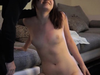 Teen and her new toy sporty amateur first time If you're goi